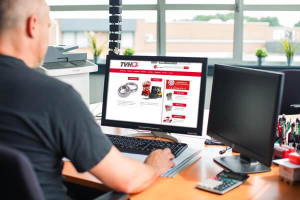 Koppeling met TVH via de digitale werkbon app software voor de buitendienst