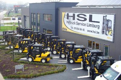 HefHeftruck onderhoud software service Limburg