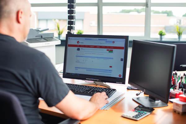 analyse functie van het Erp softwarepakket voor de technische groothandel
