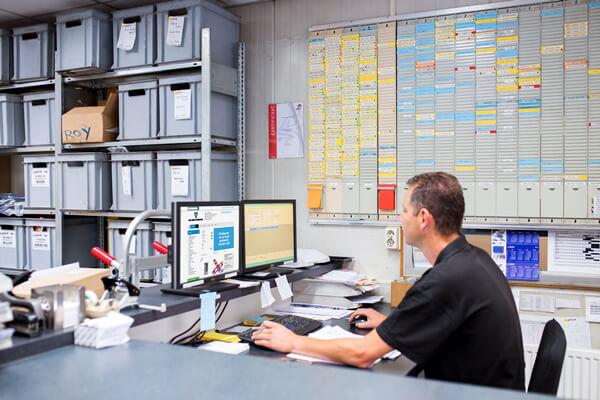 Webshop functie van het Erp softwarepakket voor de technische groothandel
