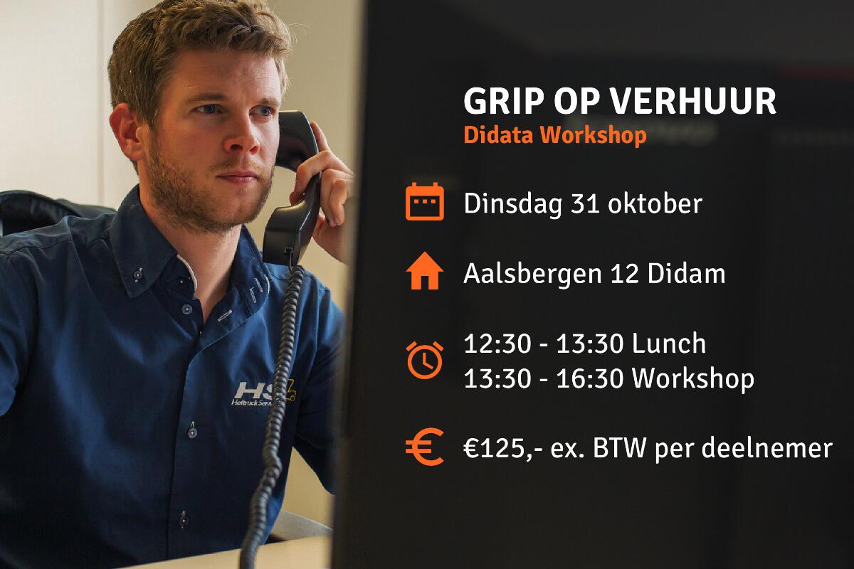 Workshop 'Grip op Verhuur'